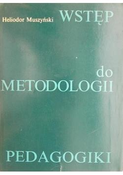 Wstęp do metodologii pedagogiki