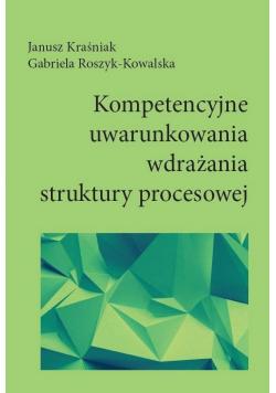 Kompetencyjne uwarunkowania wdrażania struktury...