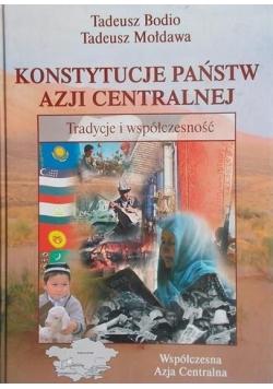 Konstytucje państw Azji Centralnej