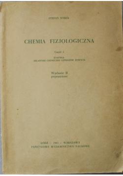 Chemia fizjologiczna część I