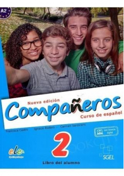 Companeros 2 podręcznik + licencia digital
