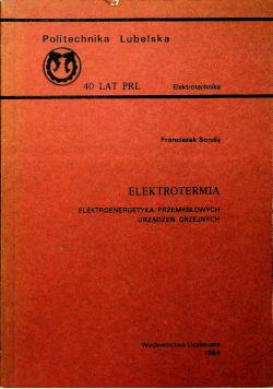 Elektrotermia elektroenergetyka