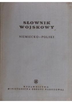 Słownik wojskowy niemiecko - polski