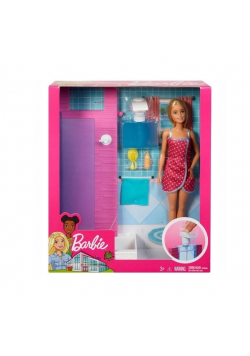 Barbie. Lalka pod prysznicem