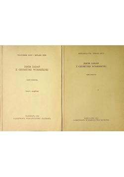 Zbiór zadań z geometrii wykreślnej część pierwsza i zeszyty