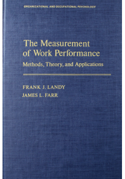 The Measurement of work performance