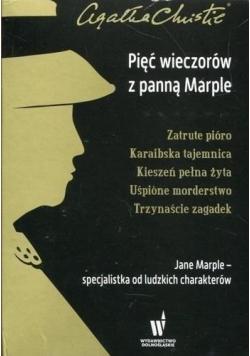 Pięć wieczorów z panną Marple