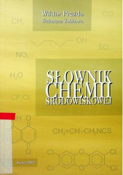 Słownik chemii środowiskowej