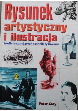 Rysunek artystyczny i ilustracja