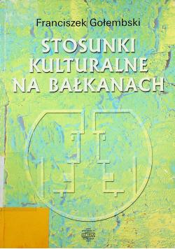Stosunki kulturalne na Bałkanach
