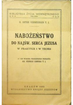 Nabożeństwo do Najśw Serca Jezusa 1933 r