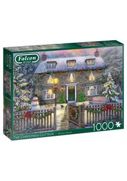 Puzzle 1000 Falcon Dom w świątecznej oprawie