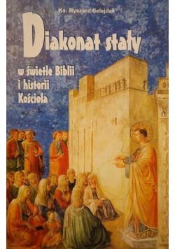 Diakonat stały w świetle Biblii i historii Kościoła