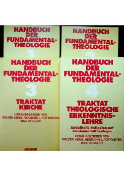 Handbuch der fundamental theologie 4 tomy