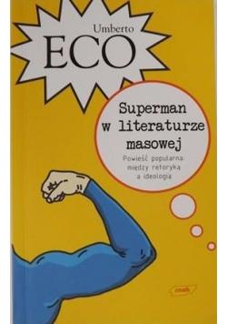 Superman w literaturze masowej