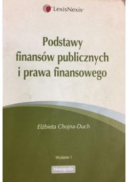 Podstawy finansów publicznych i prawa finansowego