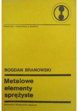 Metalowe elementy sprężyste