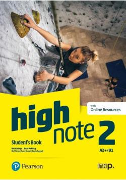 High Note 2 SB + kod Digital Resources + eBook