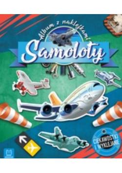 Samoloty. Album z naklejkami