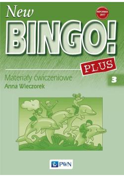 New Bingo! Plus 3 Materiały ćwiczeniowe