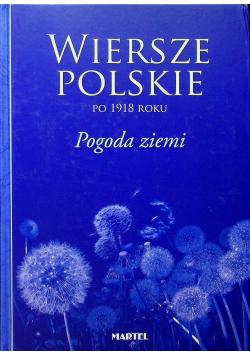 Wiersze polskie po 1918 roku Pogoda ziemi