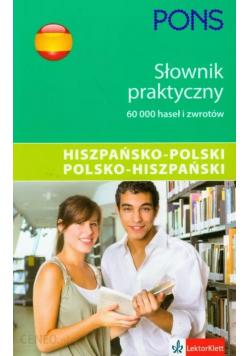 Słownik praktyczny hiszpańsko polski polsko hiszpański