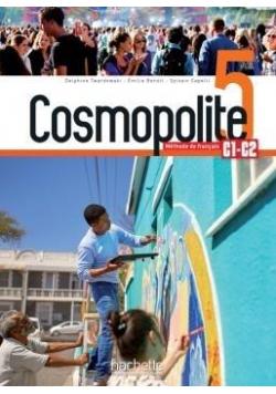 Cosmopolite 5 podręcznik +DVD HACHETTE