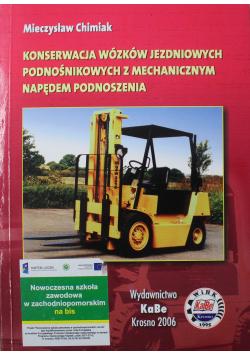 Konserwacja wózków jezdniowych podnośnikowych z mechanicznym napędem podnoszenia