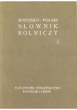 Rosyjsko Polski słownik rolniczy