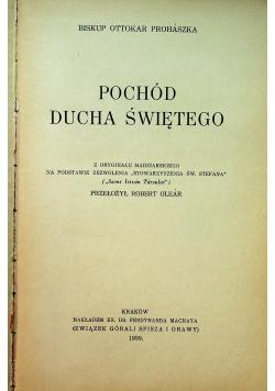 Pochód Ducha Świętego 1939 r plus autograf Prohaszka