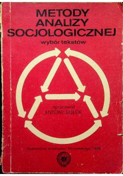 Metody analizy socjologicznej