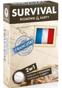 SURVIVAL karty  Język francuski Nowe