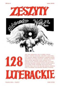 Zeszyty literackie 128 4/2014