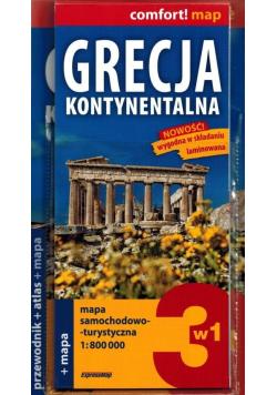 Grecja kontynentalna przewodnik, atlas i mapa
