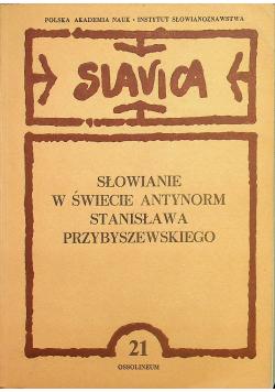 Słowianie w świecie antynorm Stanisława Przybyszewskiego
