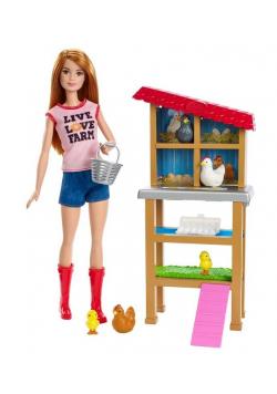 Barbie Kariera. Farmerka z akcesoriami