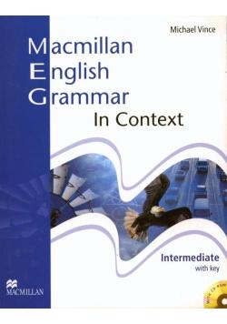 Macmillan English Grammar in Context Interm. + CD