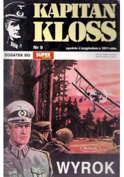 Kapitan Kloss Nr 9 Wyrok