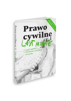 Last Minute Prawo Cywilne Część 1