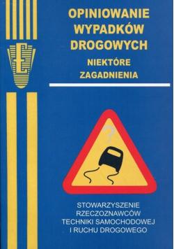 Opiniowanie wypadków drogowych niektóre zagadnienia