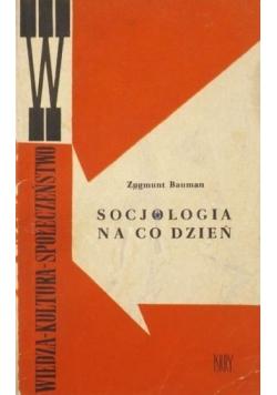 Socjologia na co dzień
