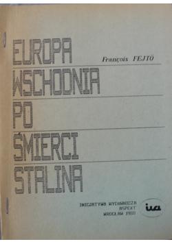Europa wschodnia po śmierci Stalina