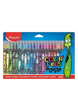Flamastry Colorpeps Monster 24 kolory