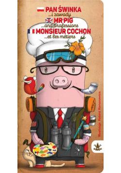Pan Świnka i zawody, Mr Pig and professions