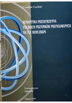 Semantyka przestrzenna polskich przyimków prefigowanych na tle rosyjskim