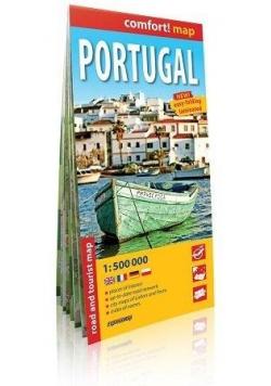 Comfort!map Portugal 1:500 000 mapa w.2019