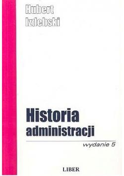 Historia administracji Wydanie 5