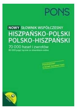 Nowy słownik współczesny hisz.-pol, pol-hiszp.