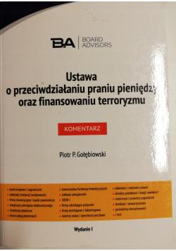 Ustawa o przeciwdziałaniu praniu pieniędzy i finansowaniu terroryzmu Nowa