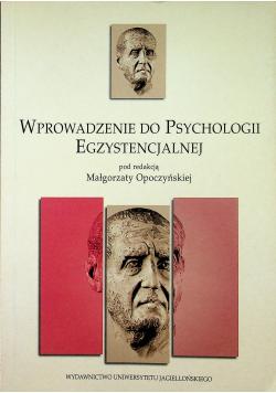 Wprowadzenie do psychologii egzystencjalnej